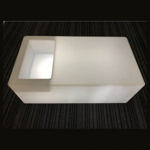 led ice bucket table hire