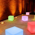 Led Cubes hire cape town
