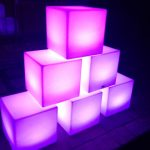 Led cubes for hire cape town